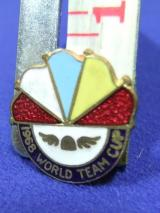 Speedway Supporter Fan badge 1968 world team cup championship