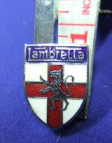 Lambretta scooter badge motor cycle bike advert