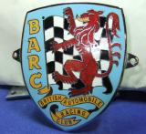 BARC British Automobile Racing Club car grille badge