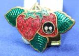 Robertson pre war Golly strawberry fruit badge