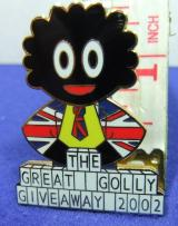 non Robertsons  THE GREAT GOLLY GIVEAWAY 2002