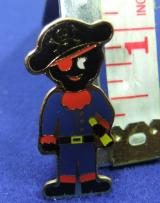 Robertsons badge Golly pirate limited edition 1996