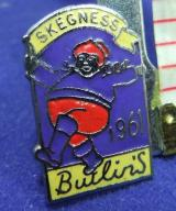 Butlins holiday camp badge skegness 1961