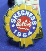 Butlins holiday camp badge skegness 1964