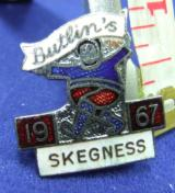 Butlins holiday camp badge skegness 1967